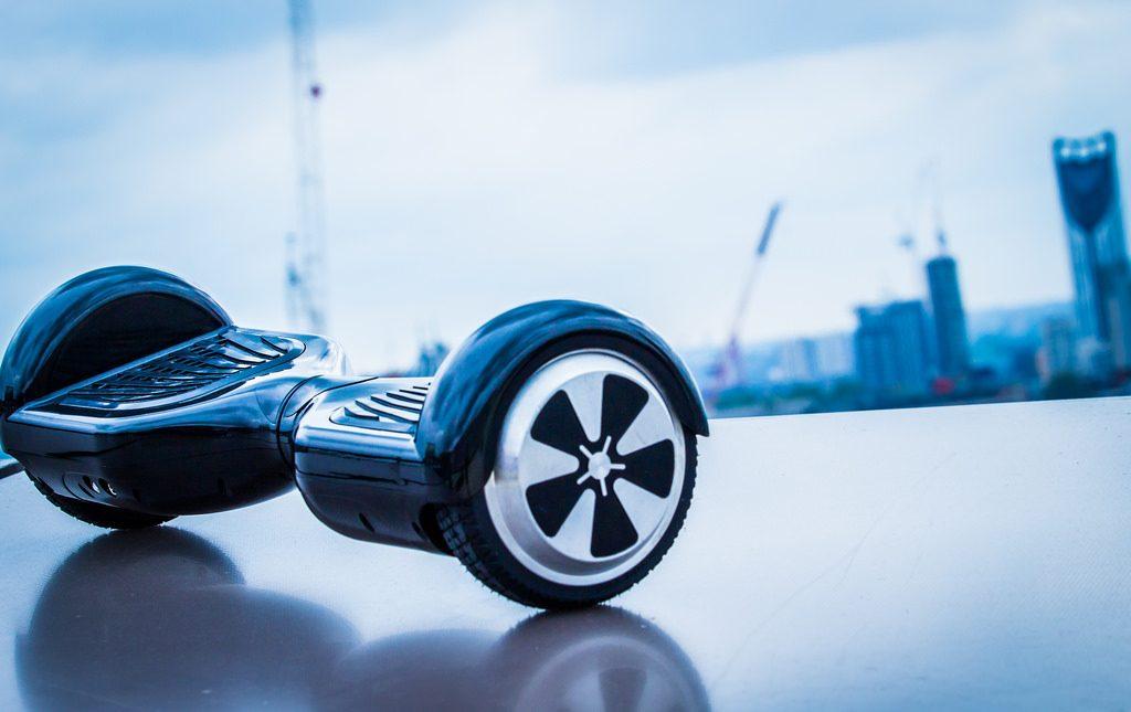 hoverboard electrique urbain noir